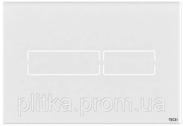 Панель смыва TECE TECElux Mini сенсорная Glass White 9240960, фото 2
