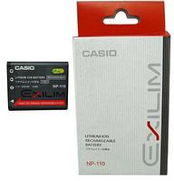 Аккумулятор Casio NP-110 для Exilim EX-ZR15 | EX-ZR10 | EX-ZR20 | EX-Z2000 | EX-Z2200 | EX-Z2300 | EX-Z3000