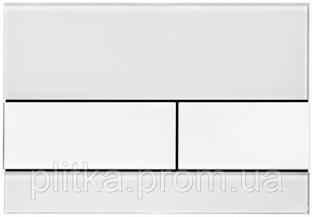 Панель смыва TECE TECEsquare White Glass/White Buttons 9240800
