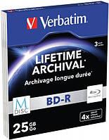 Verbatim BD-R 3шт (Printable)