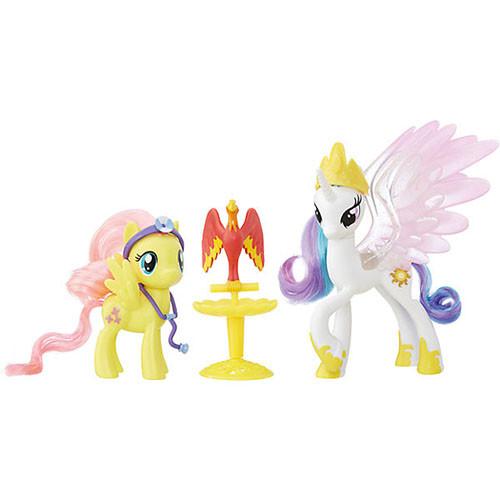 "My Little Pony Принцеса Селест і Флаттершай Пони-модницы парочки ""Принцесса Селестия и Флаттершай"" Hasbro"