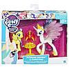 "My Little Pony Принцеса Селест і Флаттершай Пони-модницы парочки ""Принцесса Селестия и Флаттершай"" Hasbro , фото 2"