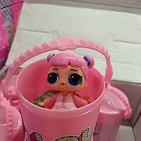 Кукла LOL с кинетическим песком