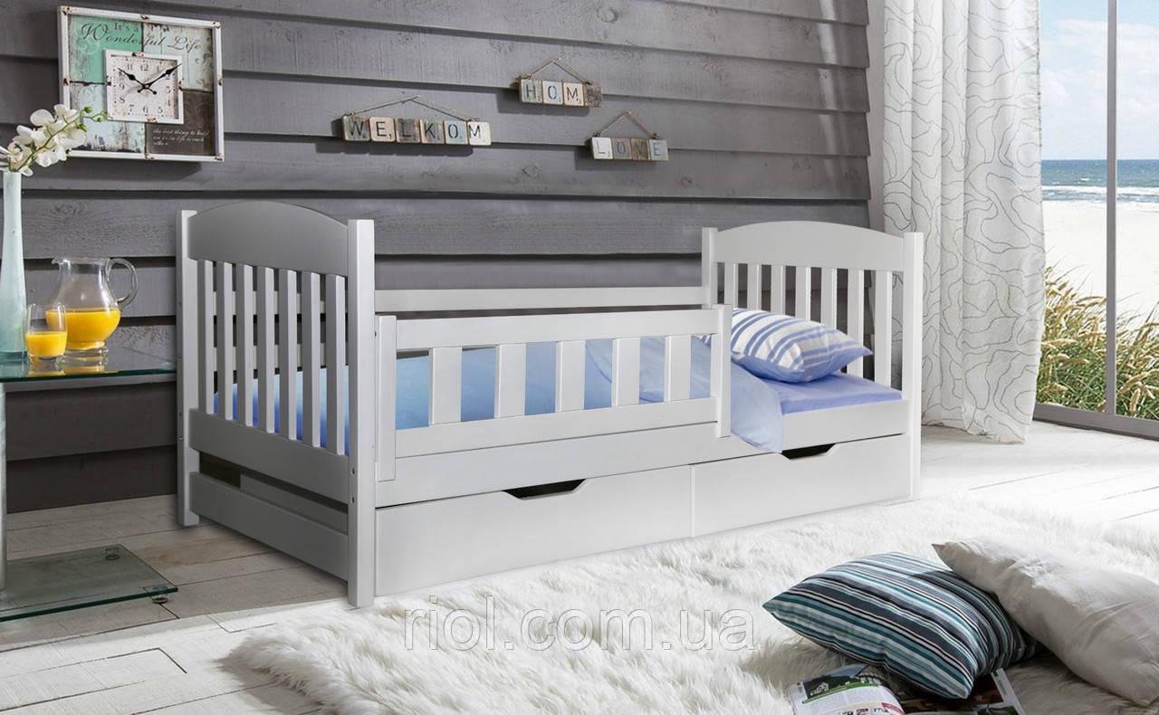 Кровать из массива бука Тобби