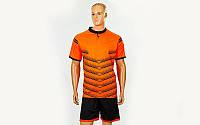 Футбольная форма Hatch  (PL, р-р S-3XL,оранжевый, шорты черные)