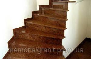 гранит лестница дом