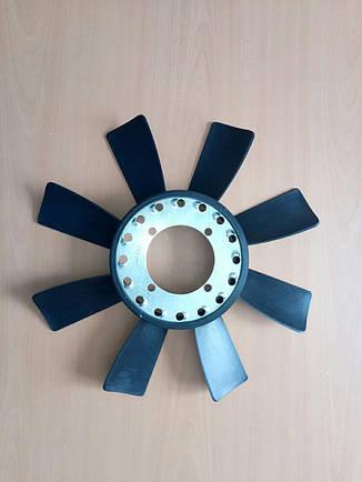 Крыльчатка вентилятора Е-2 (с эл.муфтой) 8 лопастей, фото 2