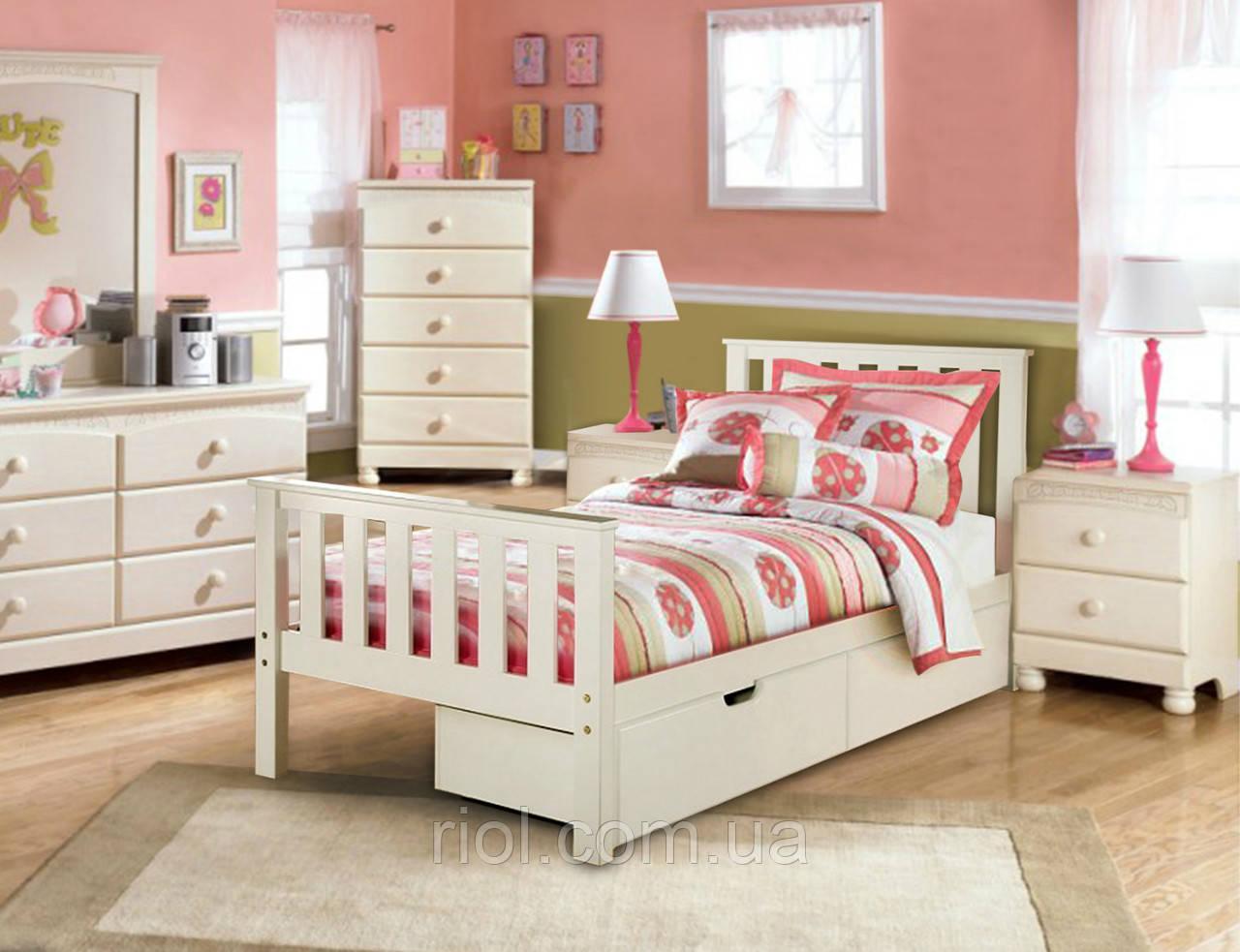 Кровать из массива бука Салли