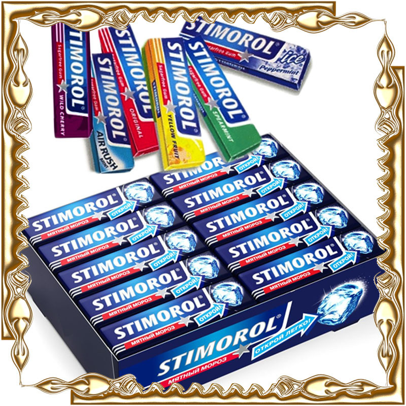 Жевательная резинка STIMOROL 10 гр. 20 шт./уп.
