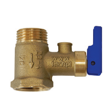 Предохранительный клапан MS 0034 Atl (3/4 с тригером)