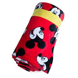 Плюшевый плед с принтом Микки Дисней / Mickey fleece throw Disney