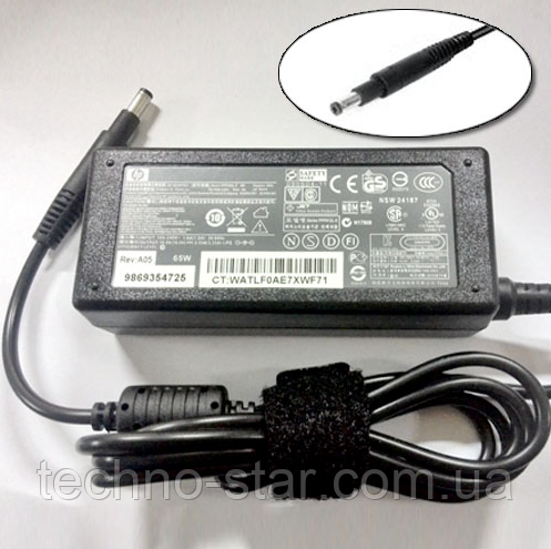 Блок питания HP 19.5V 3.33A ENVY SLEEKBOOK ULTRABOOK 4 6 SpectreXT Pro i5 i7