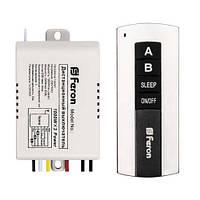 Выключатель дистанционный FERON TM75 2-канала 1000Вт Wireless 30м 220В (вкл.с задержкой)