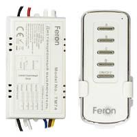 Выключатель дистанционный FERON TM74 4-канала 1000Вт Wireless 30м 220В