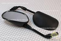 """Зеркала черные """"капли"""", М10"""