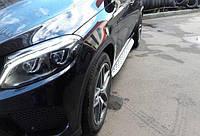 Боковые пороги Mercede GLE coupe