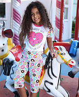 Комплект для сна детский 6530 футболка+капри Berrak