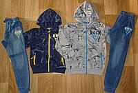 Спортивный костюм 2 в 1 для мальчика, Grace, 134 см,  № B70205