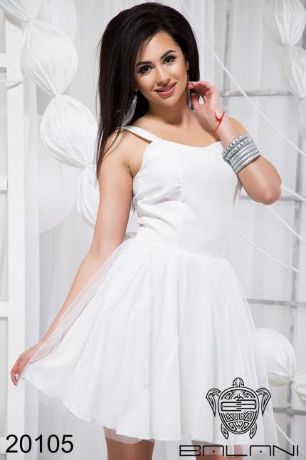 ea182f972f7 Красивое женское платье с фатином (42-46)
