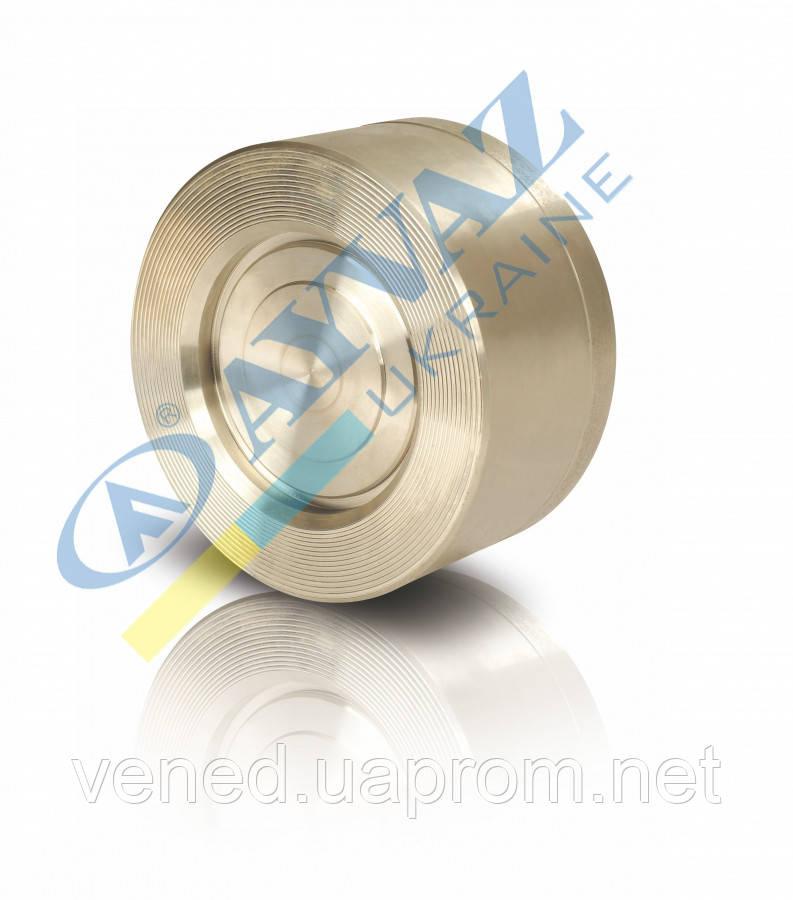 Клапан міжфланцевий диск нерж CV10p Ду32