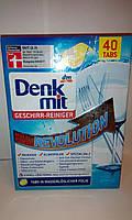 Таблетки для посудомойки Denkmit Geschirr-Reiniger-Tabs Multi-Power Revolution, 40 St