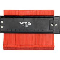 Шаблон YATO для копирования сложных контуров 125х44 мм (YT-3735), фото 1
