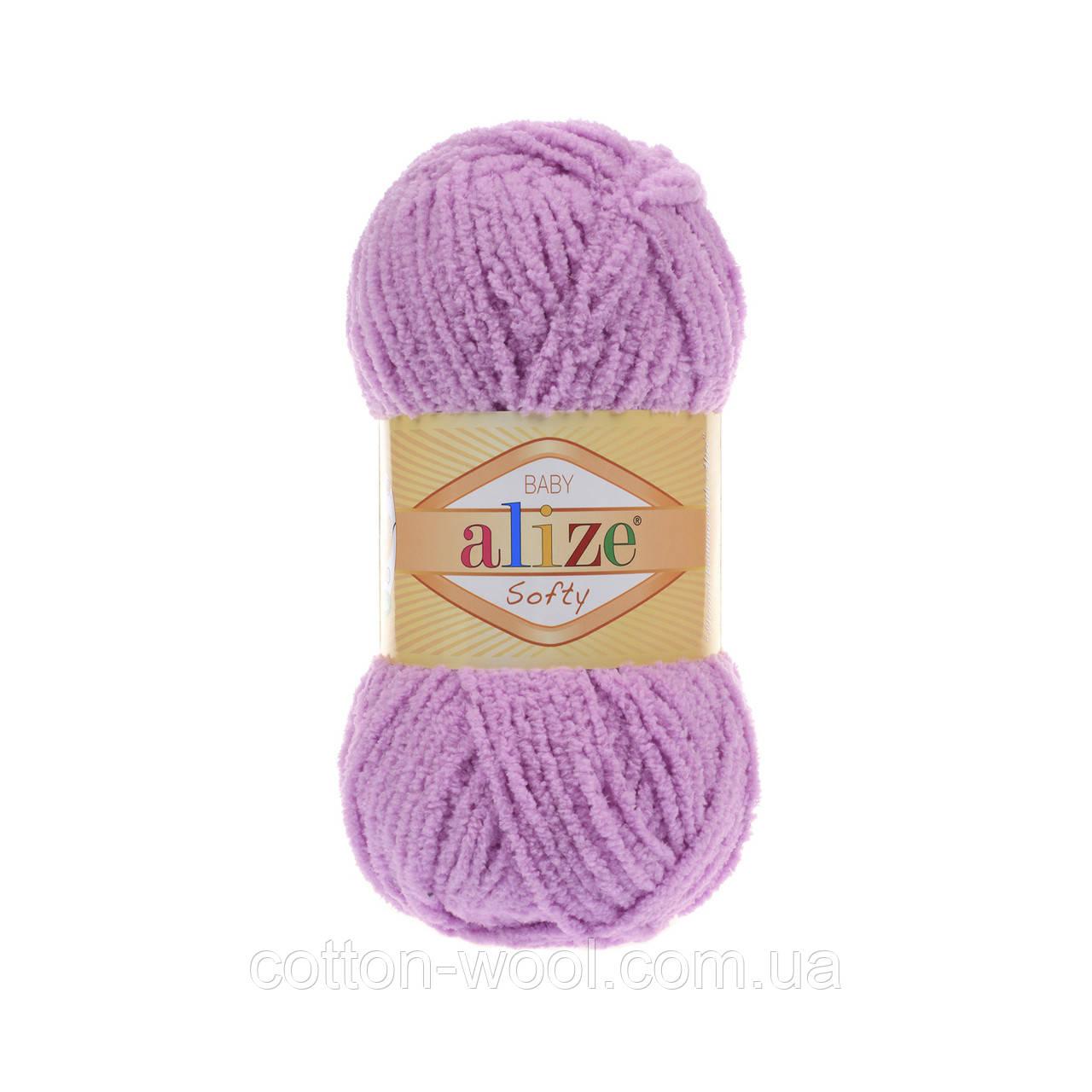 Alize Softy (Ализе Софти) 672 плюшевая пряжа