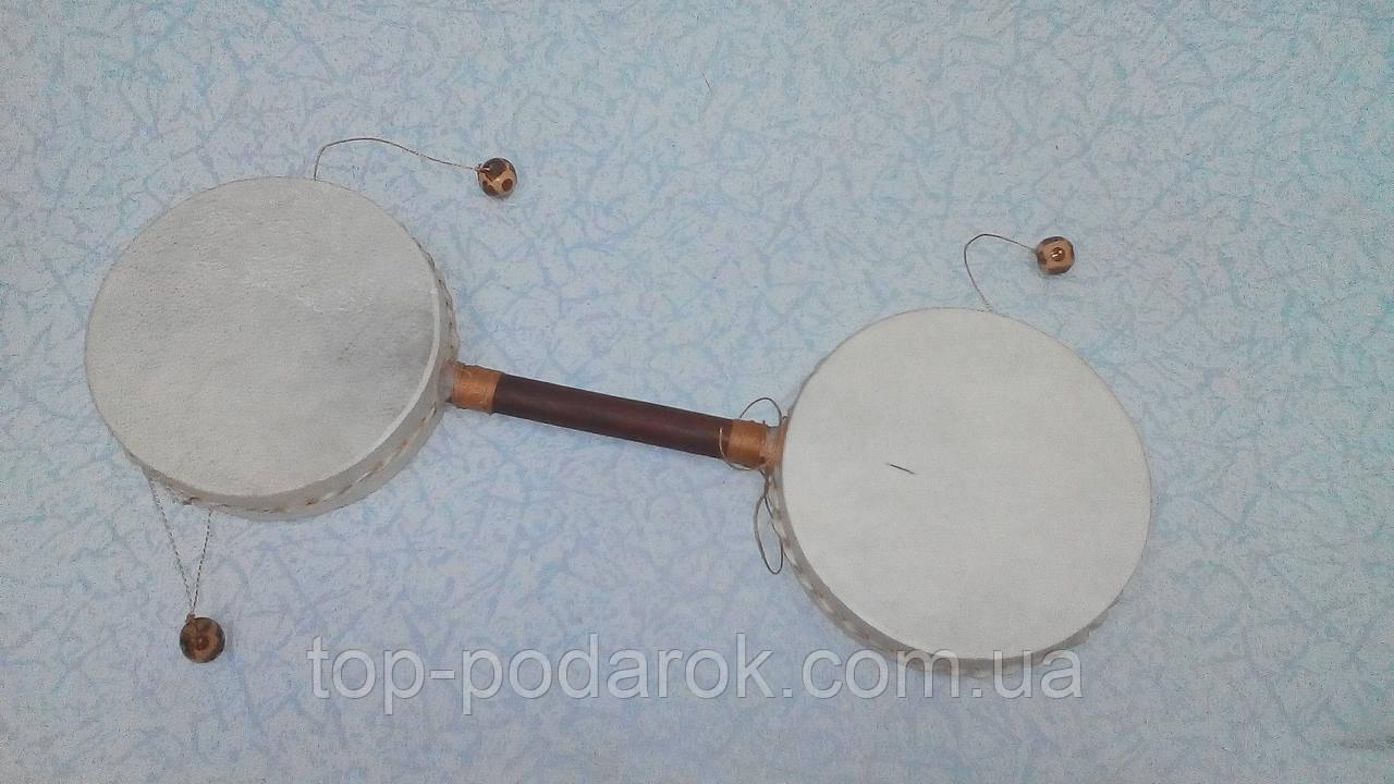 Барабан там-там бамбуковый ручной размер 35*11