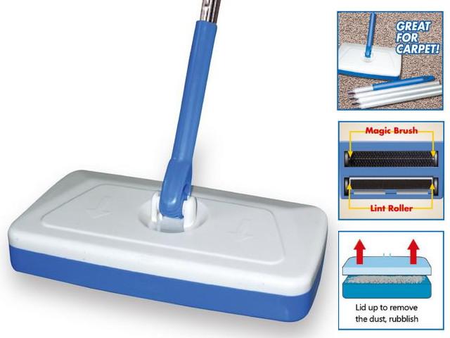 Швабр-веник Magic Sweeper 3 в 1 легкая уборка полов