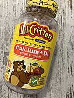 Детский кальций с витамином Д3 L'IL CRITTERS Calcium+D3 Bone Support, фото 1