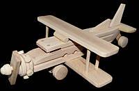 Дерев'яна іграшка Літак, фото 1