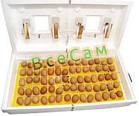Инкубатор бытовой «Рябушка-2» ИБ-130 с механическим устройством переворота яиц (130 яиц)
