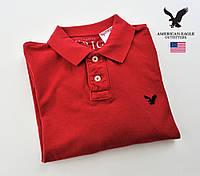Мужская рубашка-поло American Eagle®(M)/Длинный рукав/Оригинал из США