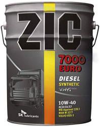 ZIC 7000 EURO 10W-40 200л