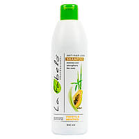 Шампунь La Fabelo Professional против выпадения волос с экстрактом морских водорослей, папаей, розмарином 300м