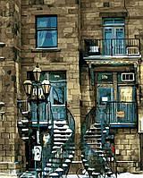 Картина анти стресс по номерам Старинный дом