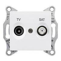 Розетка телевизионная+спутниковая TV-SAT Schneider Electric Sedna