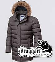 Куртка с опушкой мужская зимняя