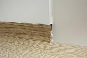 Скрытый плинтус Profilpas Metal line 88/6 база+88/16 вставка Дуб натуральный
