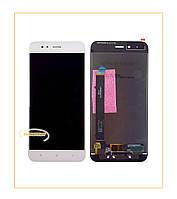 Дисплей (экран) Xiaomi Mi A1 с сенсором White