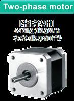 42BYGH038 двухфазный шаговый двигатель, фото 1