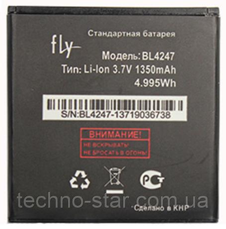 Оригинальный аккумулятор (АКБ, батарея) Fly BL4247 для IQ442 Miracle