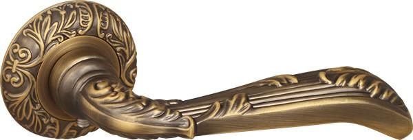 Ручка раздельная Fuaro BOHEMIA SM AB-7 матовая бронза