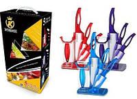Набор кухонных керамических ножей 4 предмета  Kitchen King