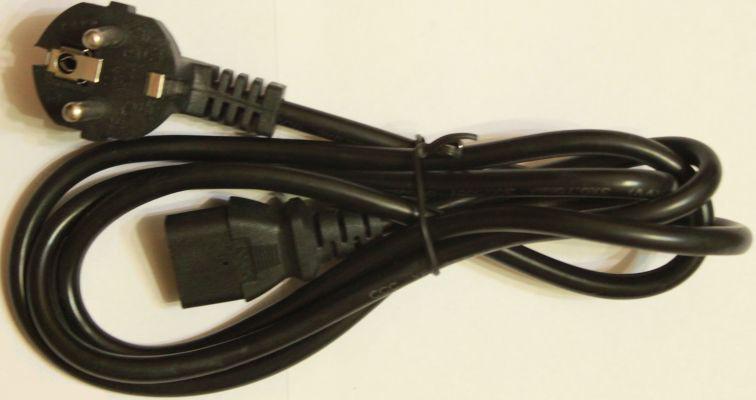 Шнур питания 0,5 10A 1.5m 220V Код.53536