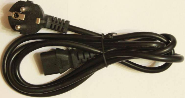Шнур питания 0,5 10A 1.5m 220V Код.53536, фото 2