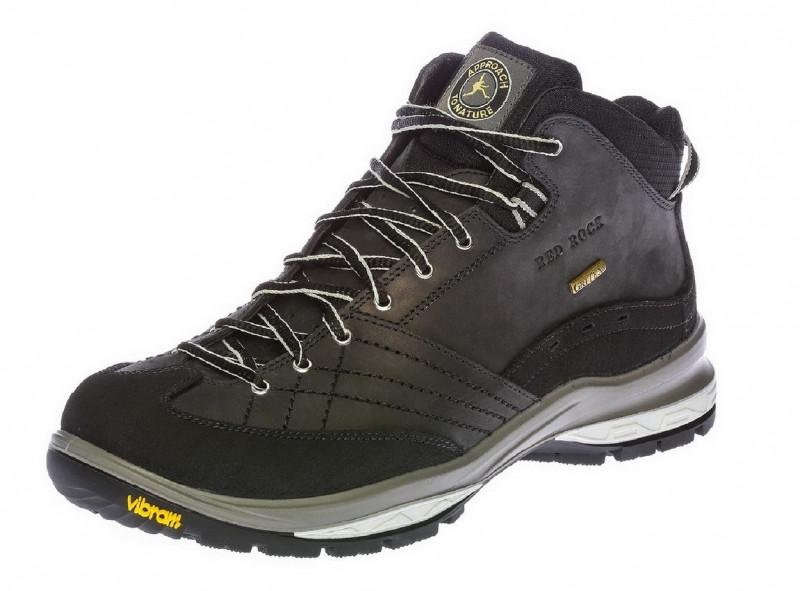 Мужские ботинки зимние ReD RoCk 12511 черные