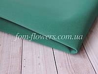 Замшевый фоамиран Зеленый Морской 50*50 см, фото 1