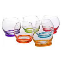 Набор стаканов Bohemia CRAZY 390 мл (Богемское стекло)