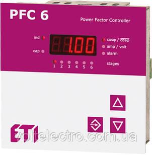 Регулятор реактивной мощности PFC-6 RS 400V  1-ф